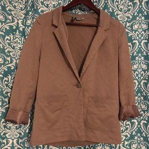 H&M blazer with pockets